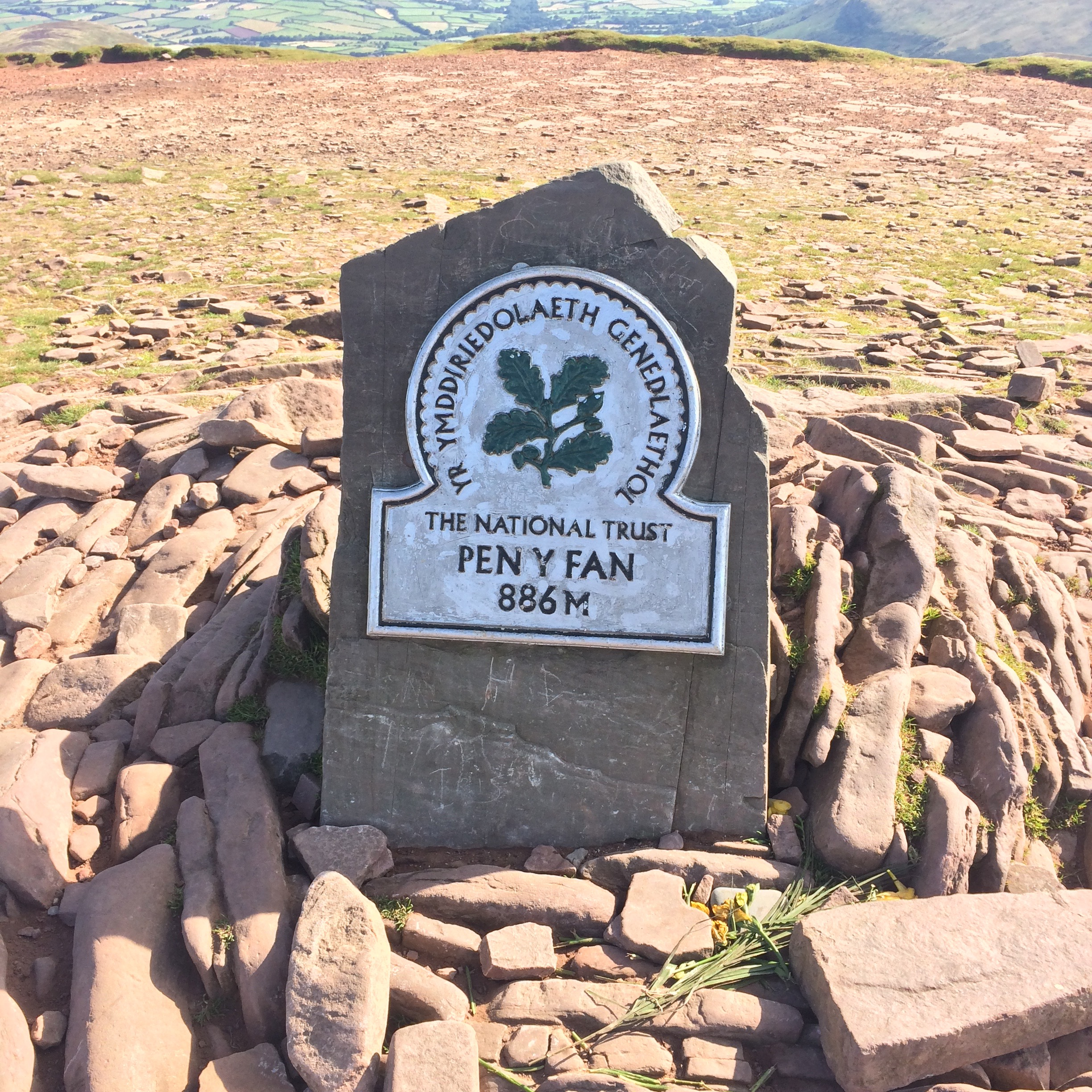 Pen y Fan sign