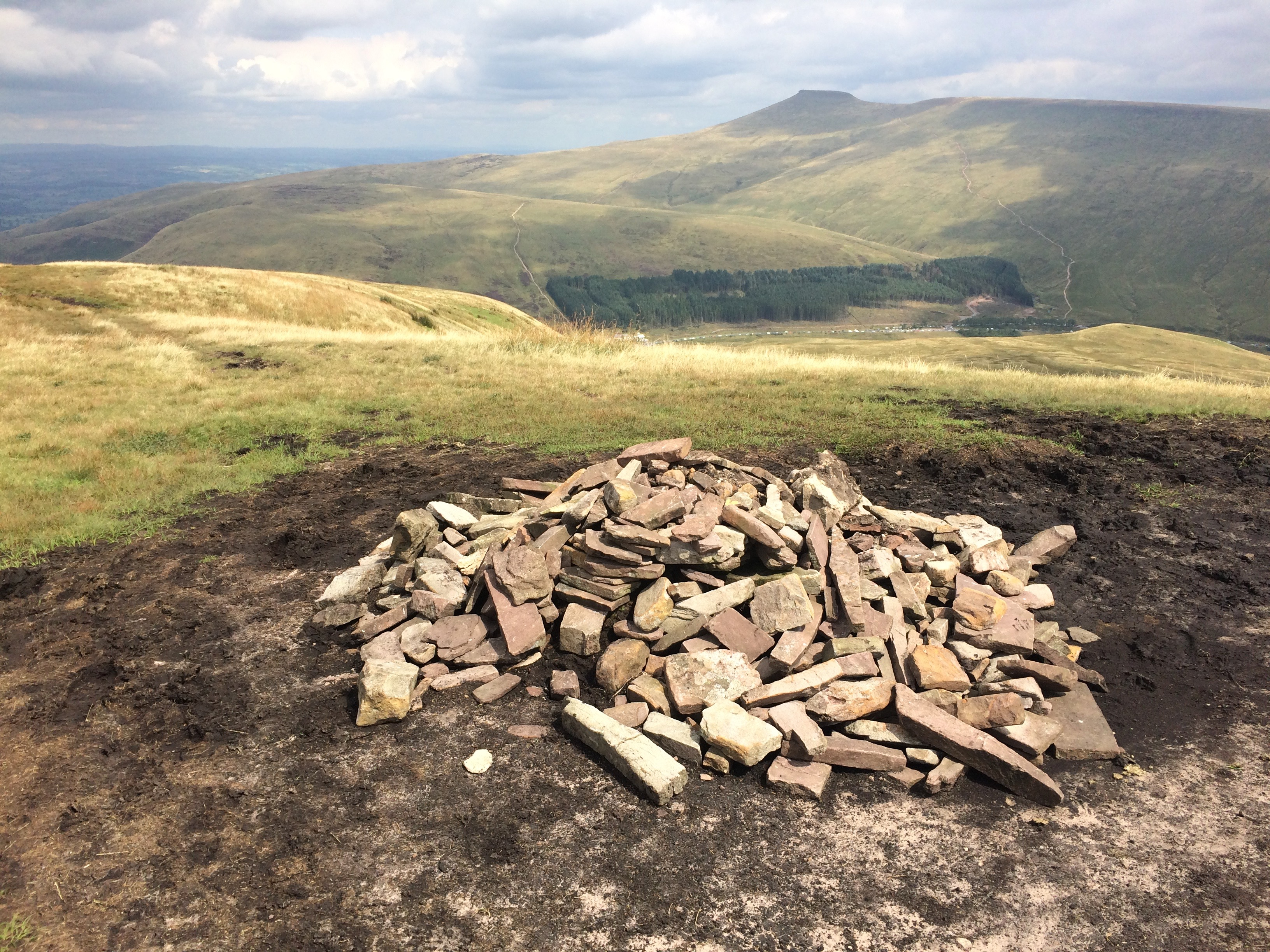 Cairn on Fan Fawr