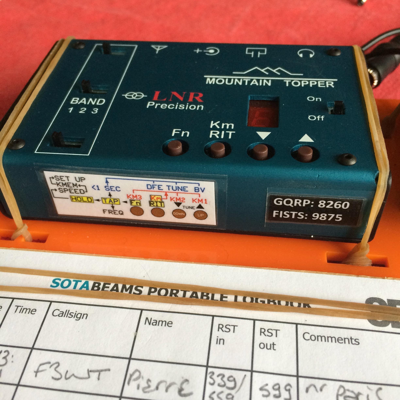 MTR3B on dashboard