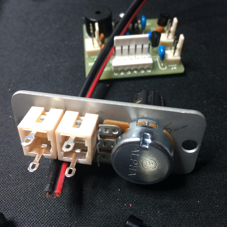 K16 kit - making the back panel 2