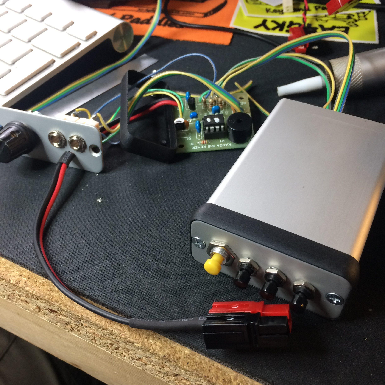 K16 kit - wiring up