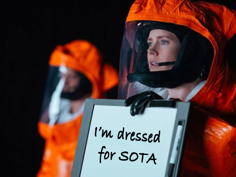 Dressed for SOTA