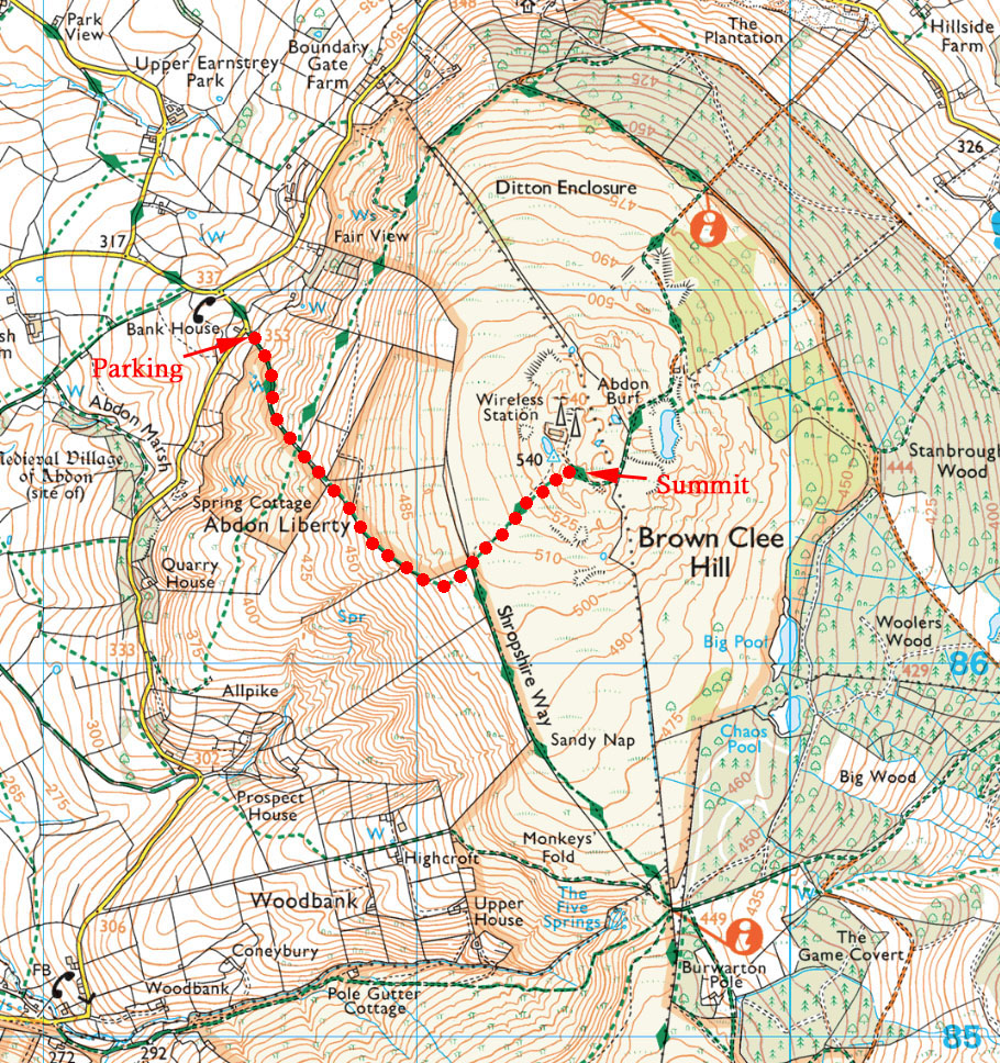Five Summits - Brown Clee Hill