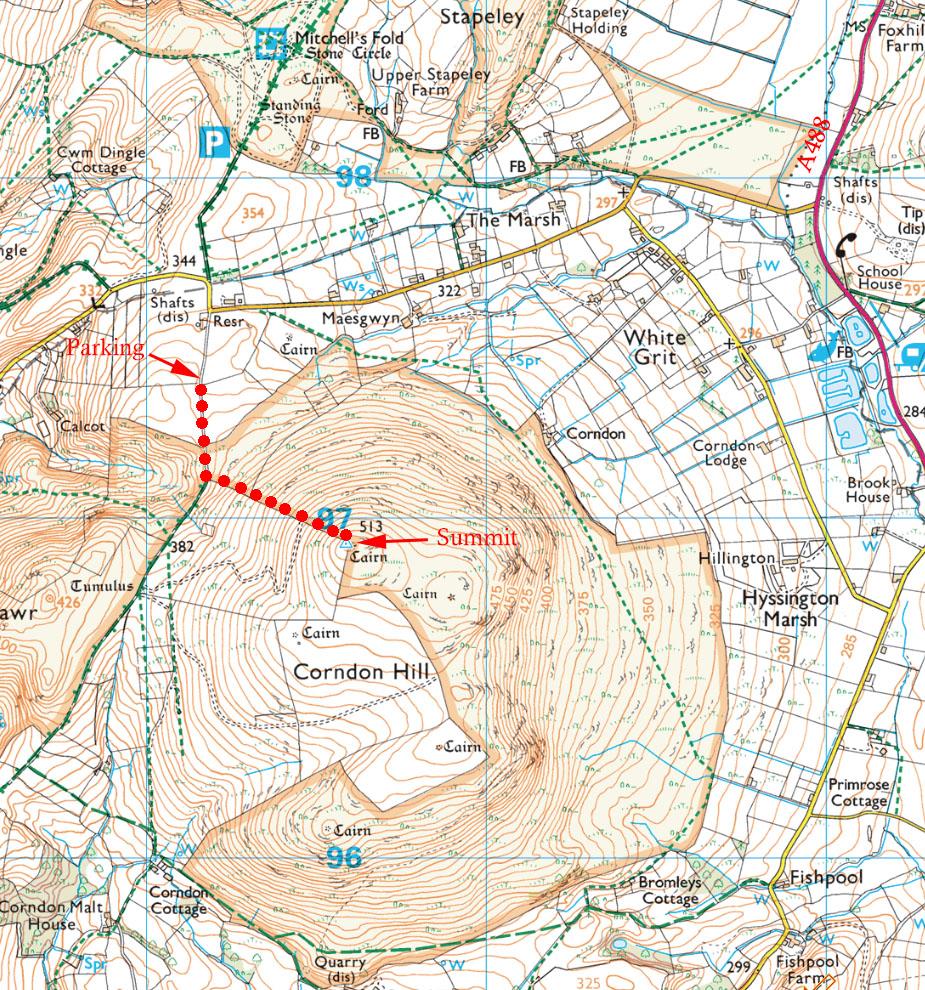 Five Summits - Corndon Hill