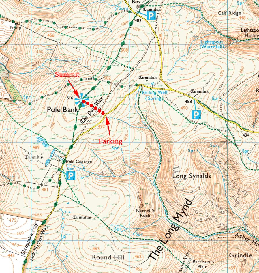 Five Summits - Long Mynd