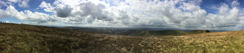 View from Pen y Fan