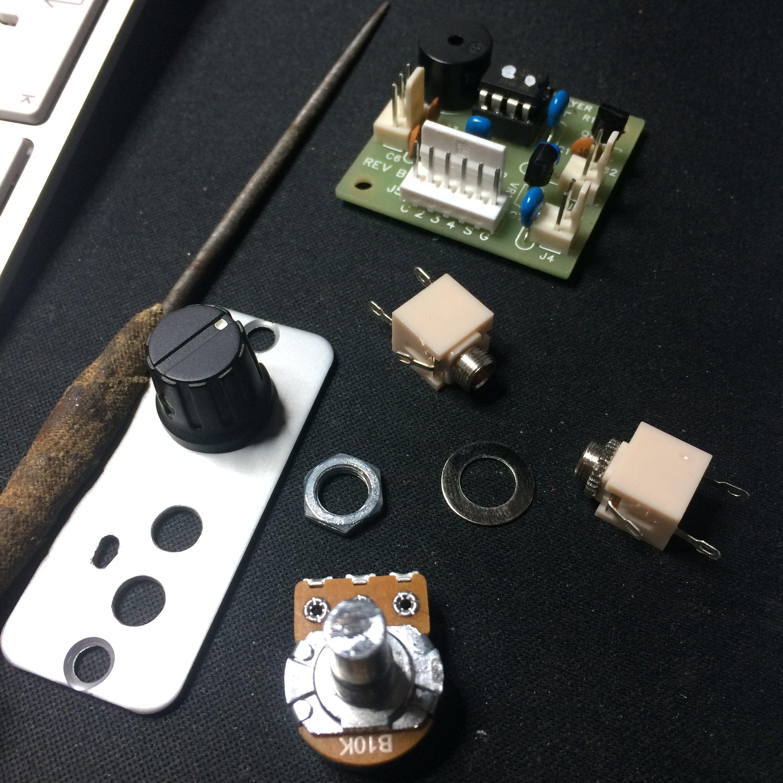 The parts - K16 build