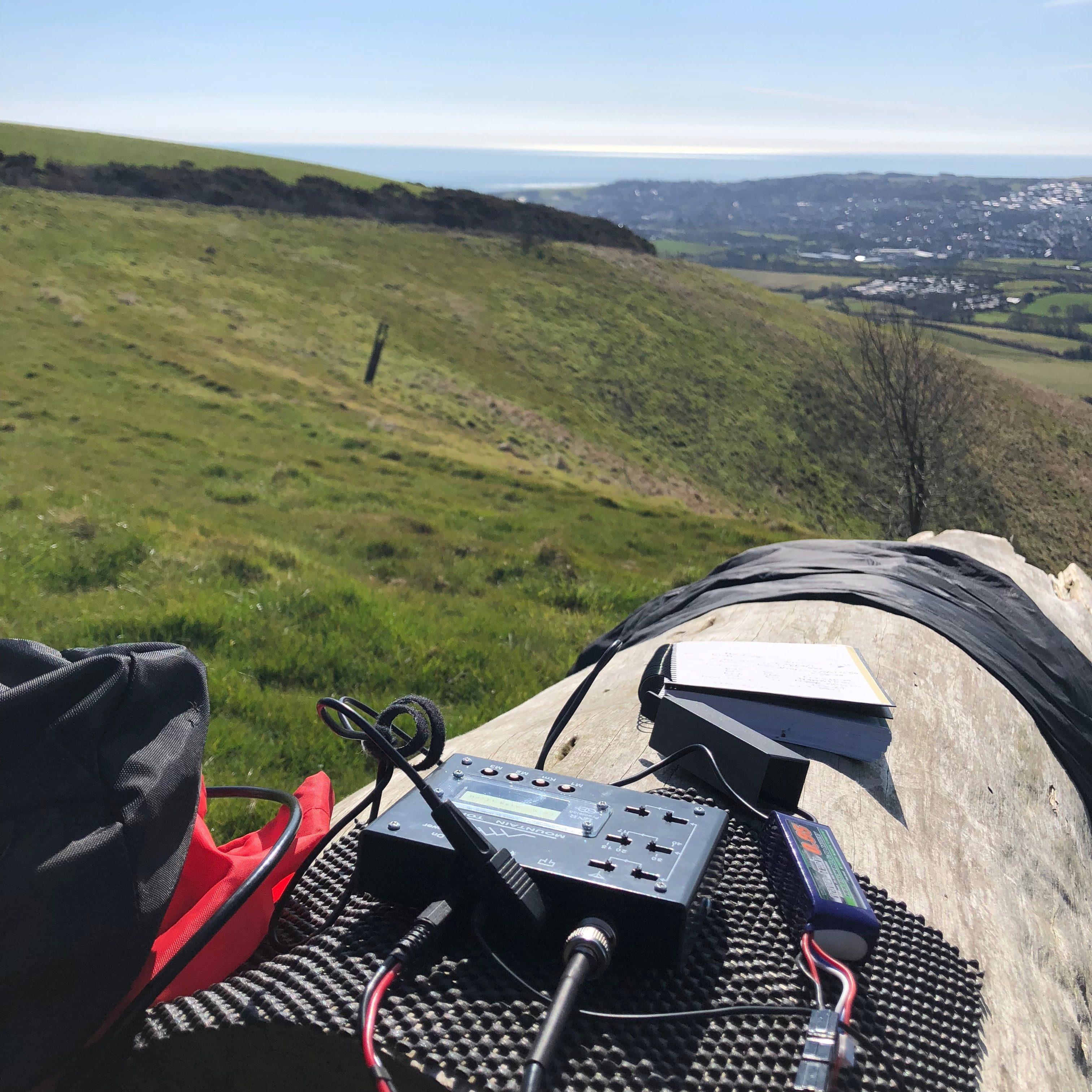 Radio log, my operating position